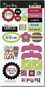 SRC765 Surprise Birthday Chipboard no border