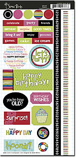 SRS766 Surprise Birthday Stickers no border
