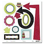 SRD763 Surprise Birthday die cut shapes