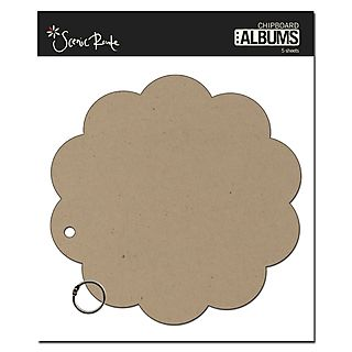 480 SRC328 Plain Round Scallop Chip album