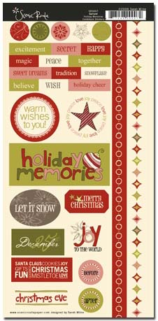SRS007 Garland Holiday Memories Sticker 480 cropped