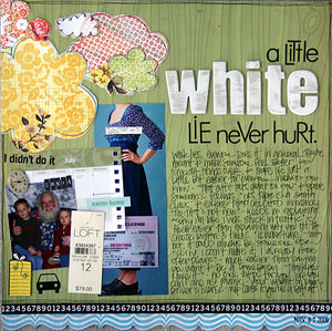 A Little White Lie - sm