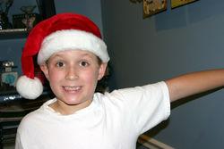 Sam santa hat