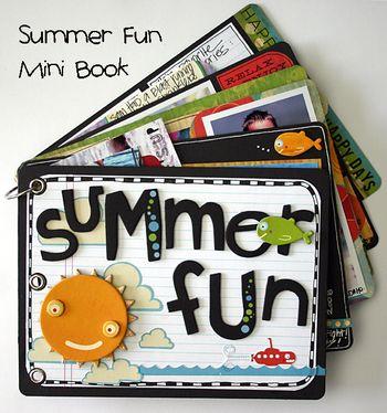 Summer Fun Mini Book