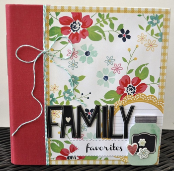 Family Favorites Recipe Book
