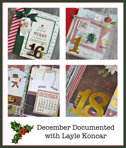 Document Your December - 4 up peek