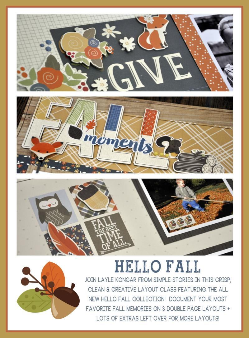 Hello Fall Sneak Peek