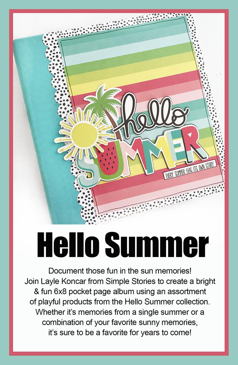 Hello Summer Sneak Peek