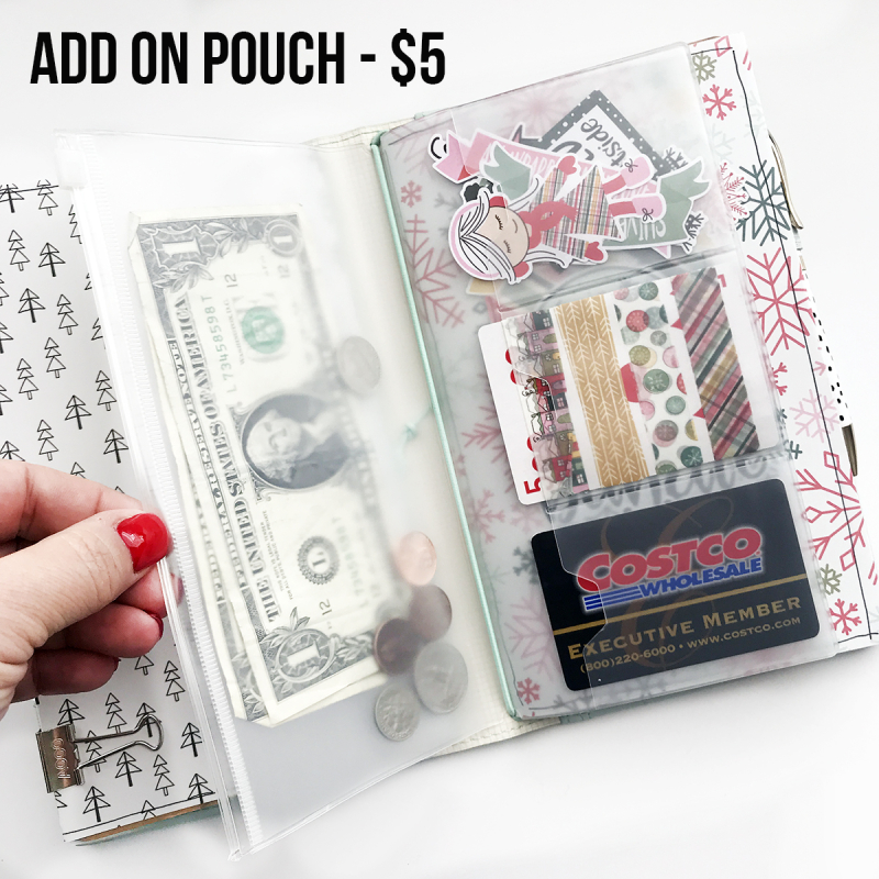 Add on pouch