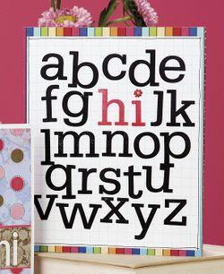 Alphabet 'Hi'
