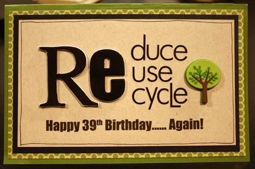 Cards Happy 39th Birthday Again